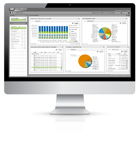 SEI Archway's Integrated Accounting Software Dashboard