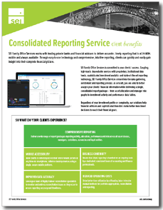 Benefits of Outsourced Consolidated Reporting for Clients