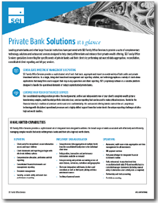 SEI Archway Private Bank Solution Overview