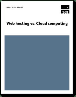 Web Hosting vs. Cloud Computing White Paper